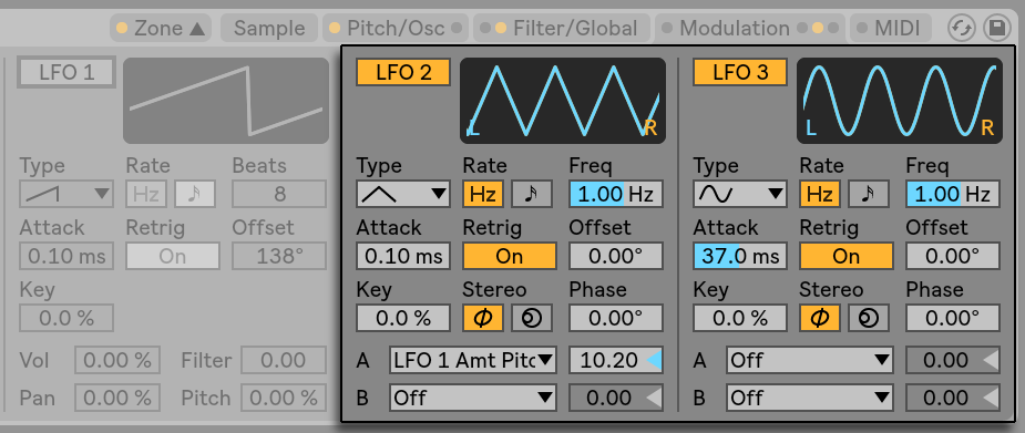 LFO functions