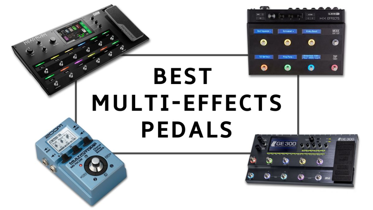 multi-effects pedals